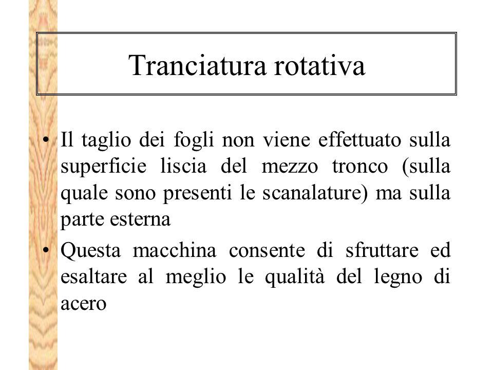 Tranciatura rotativa