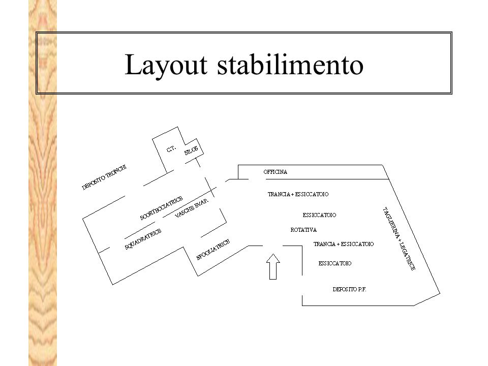 Layout stabilimento
