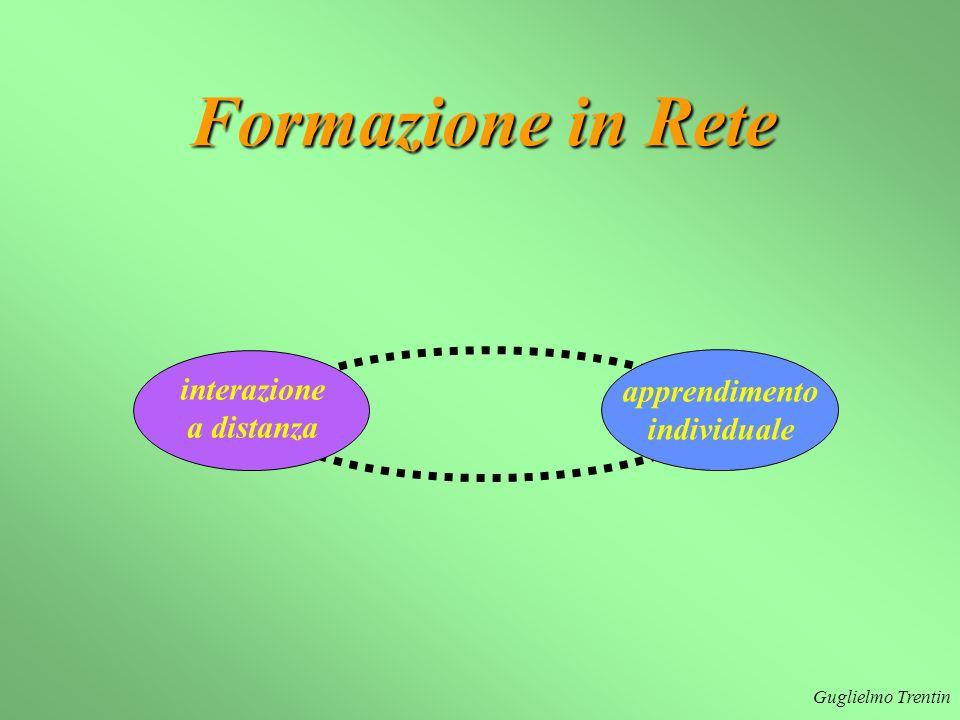Formazione in Rete interazione apprendimento a distanza individuale