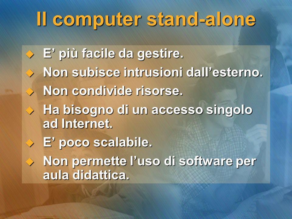 Il computer stand-alone
