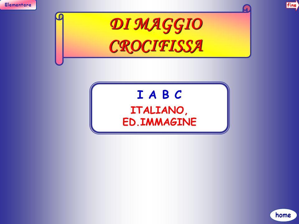 DI MAGGIO CROCIFISSA I A B C ITALIANO, ED.IMMAGINE