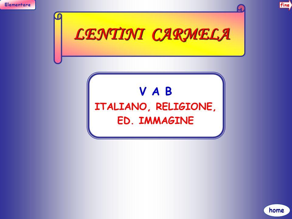 LENTINI CARMELA V A B ITALIANO, RELIGIONE, ED. IMMAGINE