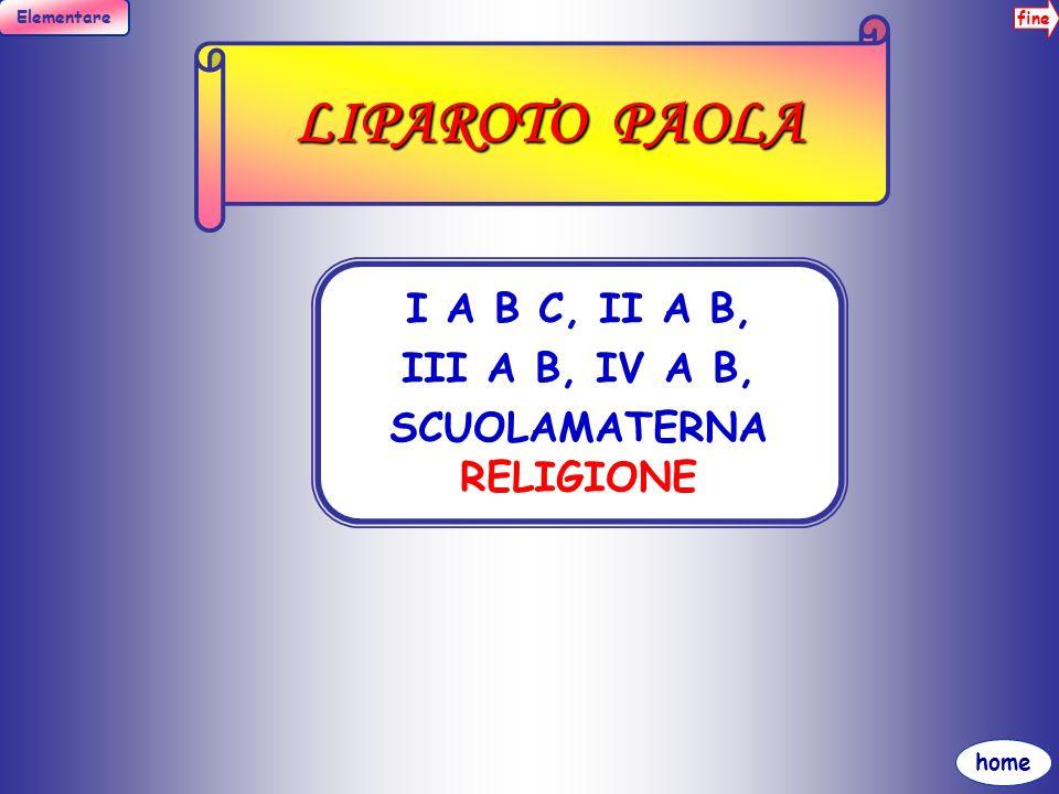 SCUOLAMATERNA RELIGIONE