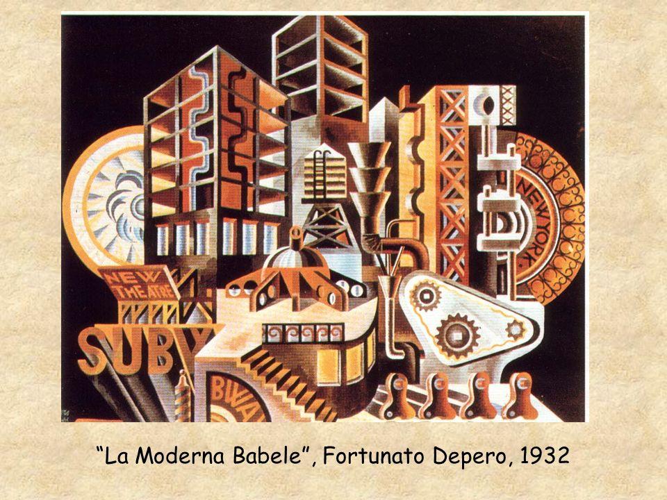 La Moderna Babele , Fortunato Depero, 1932