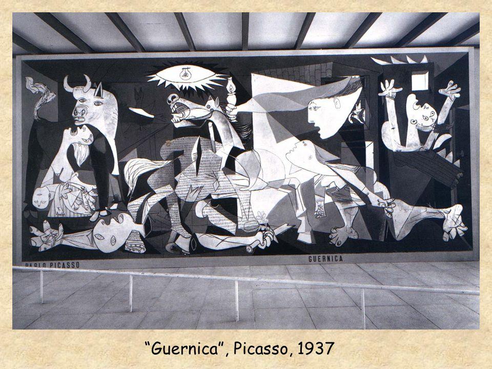 Guernica , Picasso, 1937