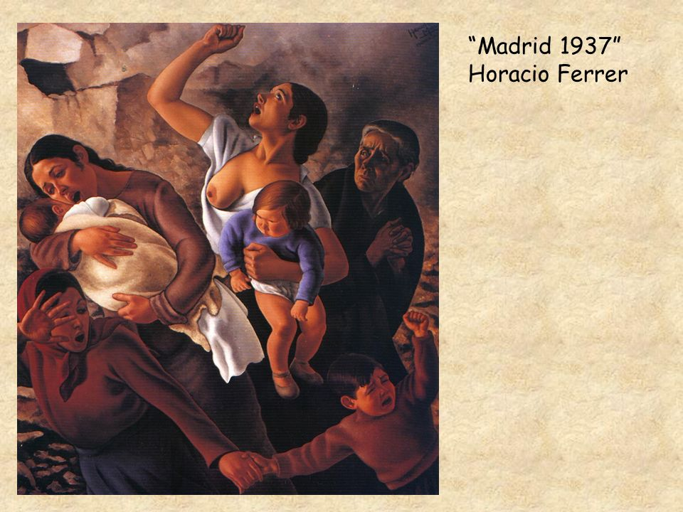 Madrid 1937 Horacio Ferrer