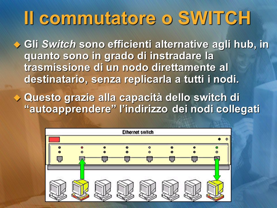 Il commutatore o SWITCH
