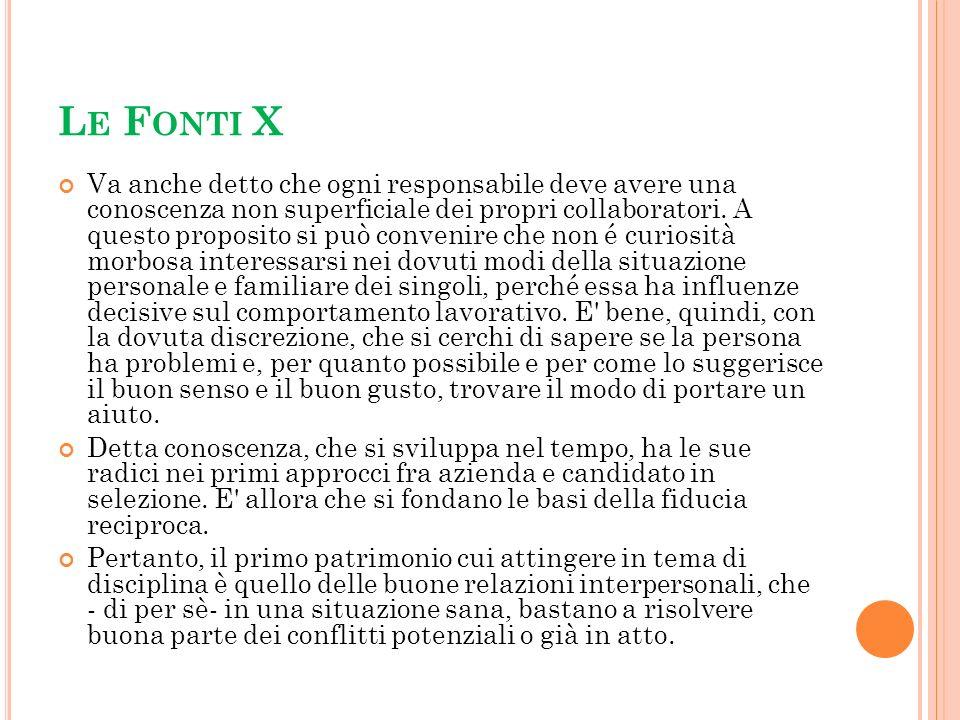 Le Fonti X