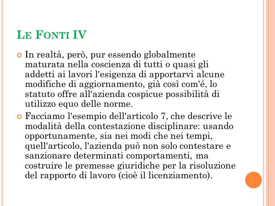 Le Fonti IV