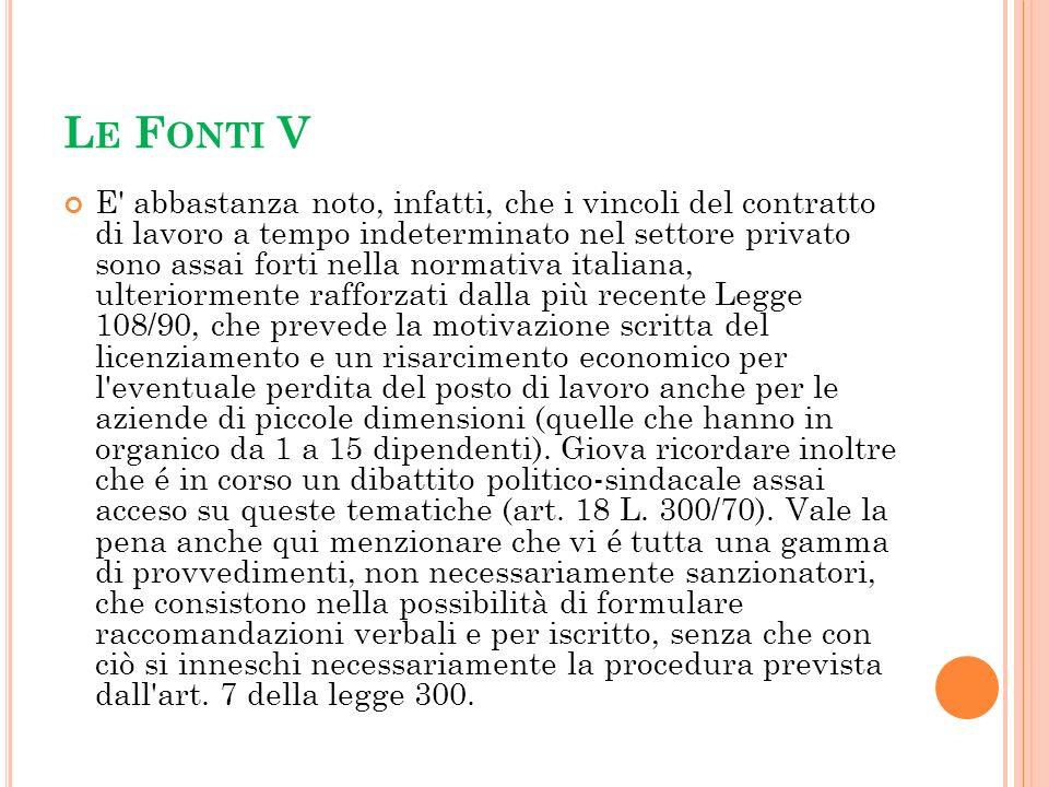 Le Fonti V