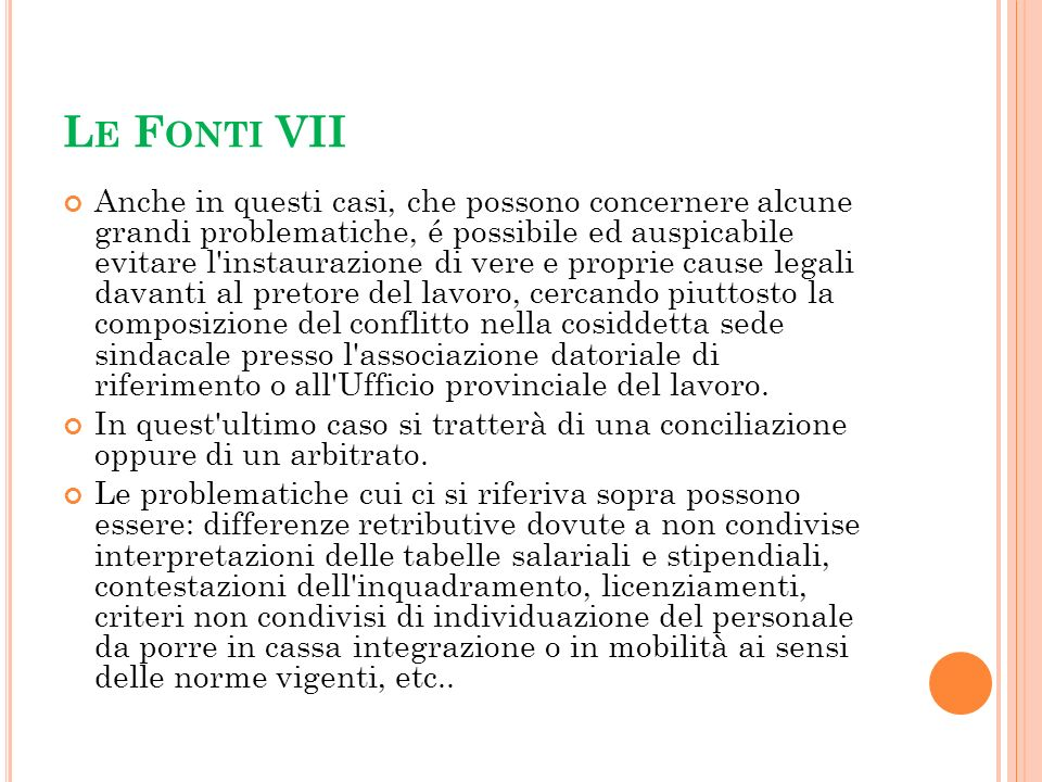Le Fonti VII
