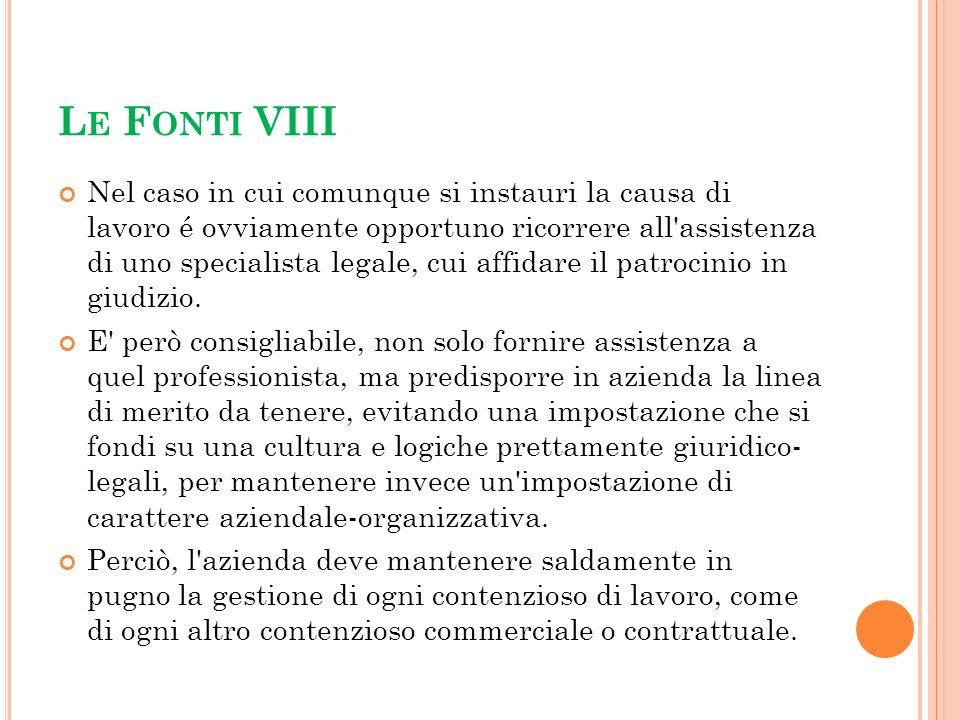 Le Fonti VIII