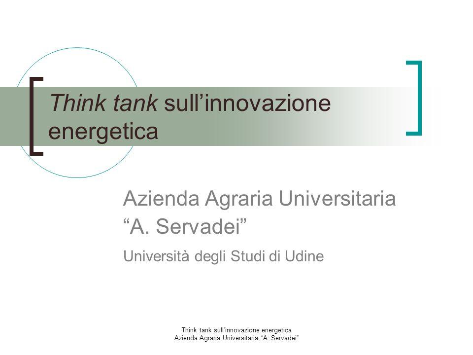 Think tank sull'innovazione energetica