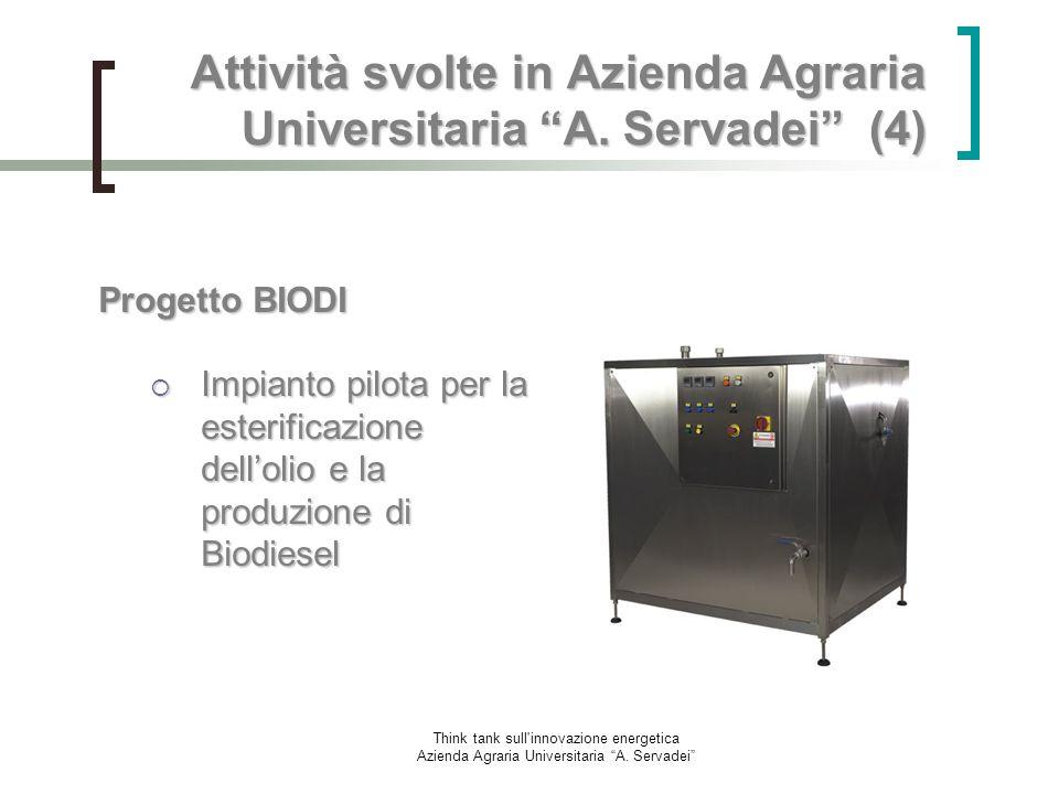 Attività svolte in Azienda Agraria Universitaria A. Servadei (4)