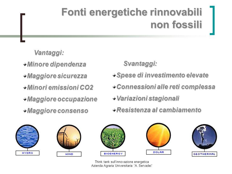 Fonti energetiche rinnovabili non fossili