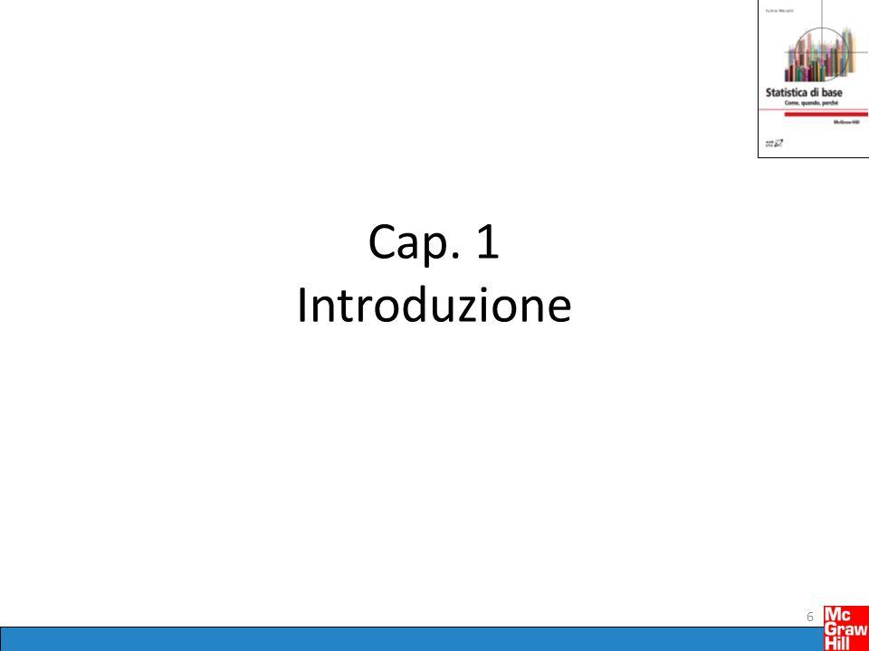 Cap. 1 Introduzione