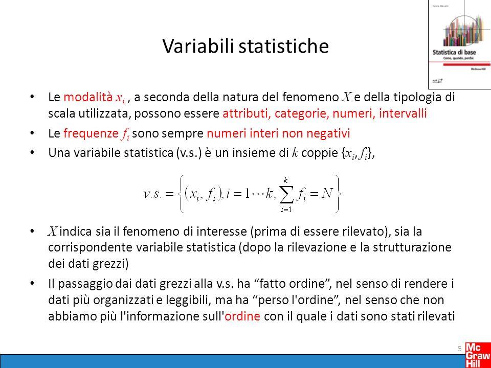 Variabili statistiche