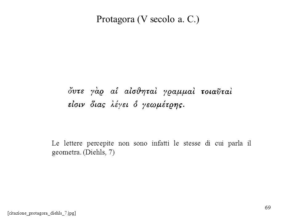 Protagora (V secolo a. C.)