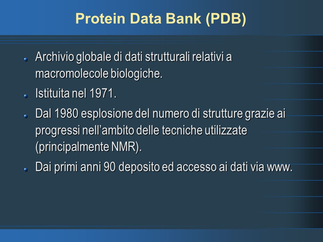 Protein Data Bank (PDB)