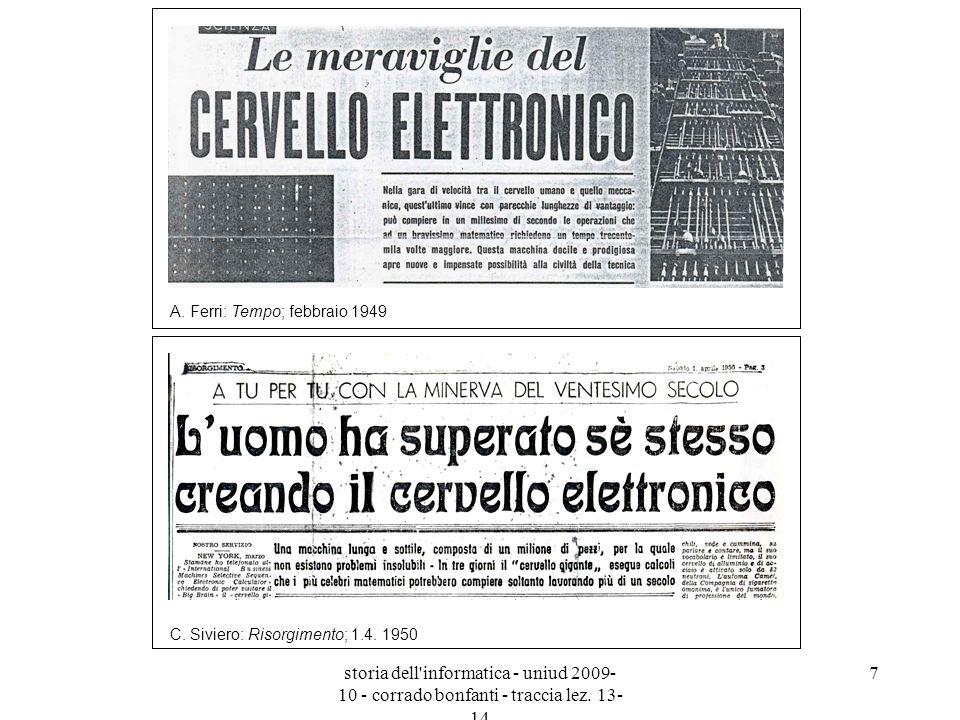 A. Ferri: Tempo; febbraio 1949