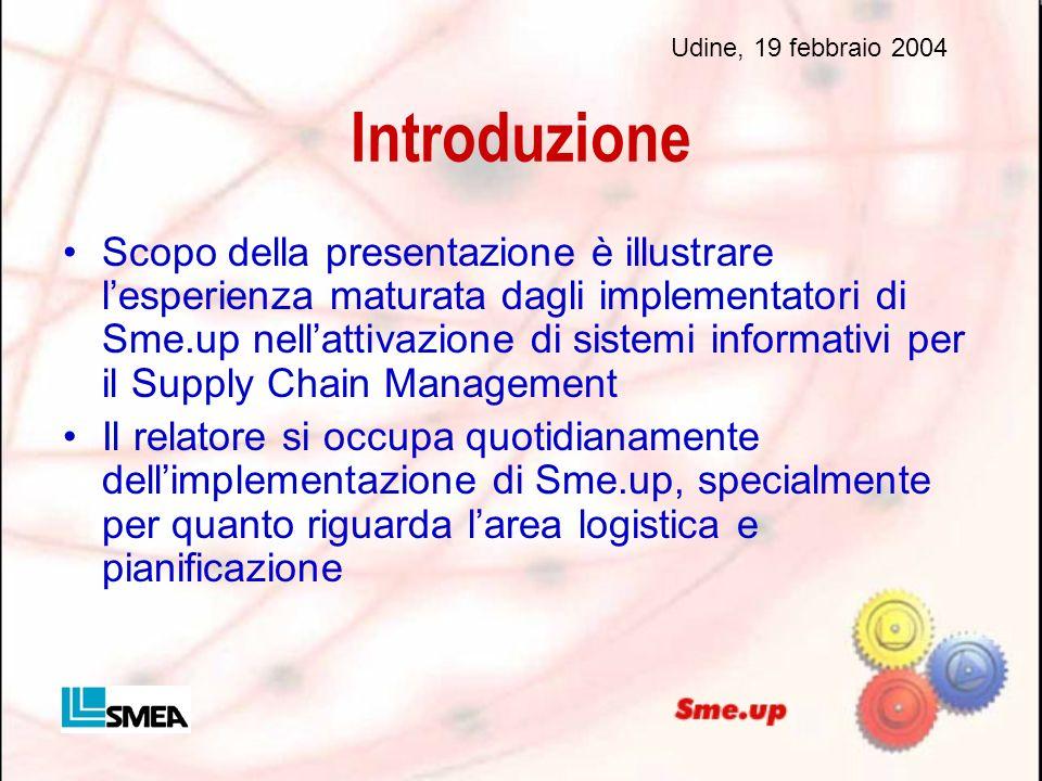 Udine, 19 febbraio 2004 Introduzione.
