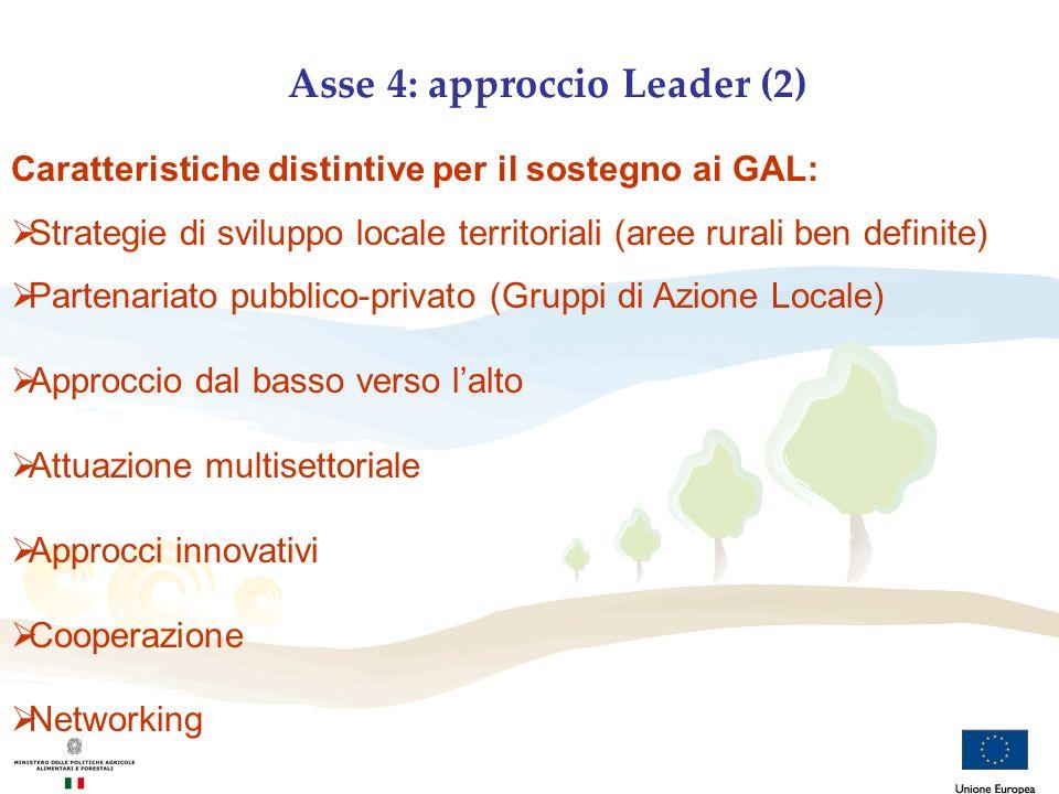 Asse 4: approccio Leader (2)