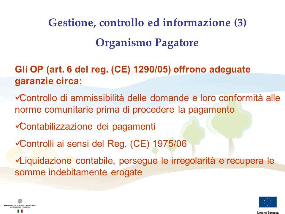 Gestione, controllo ed informazione (3)