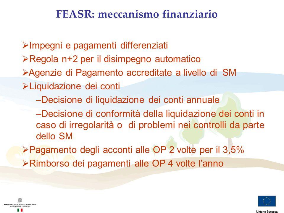 FEASR: meccanismo finanziario