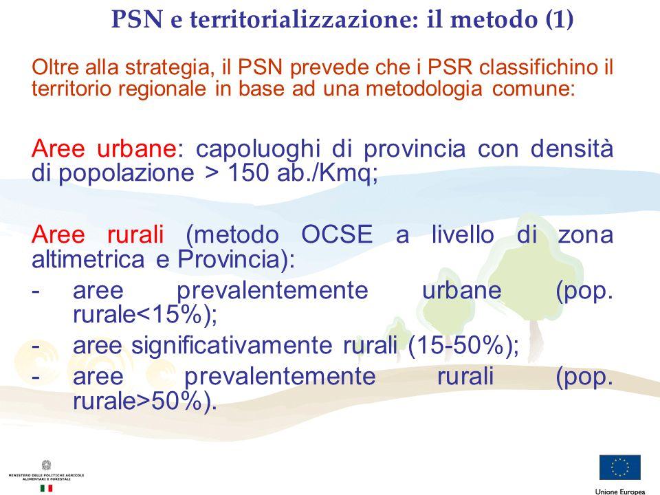 PSN e territorializzazione: il metodo (1)