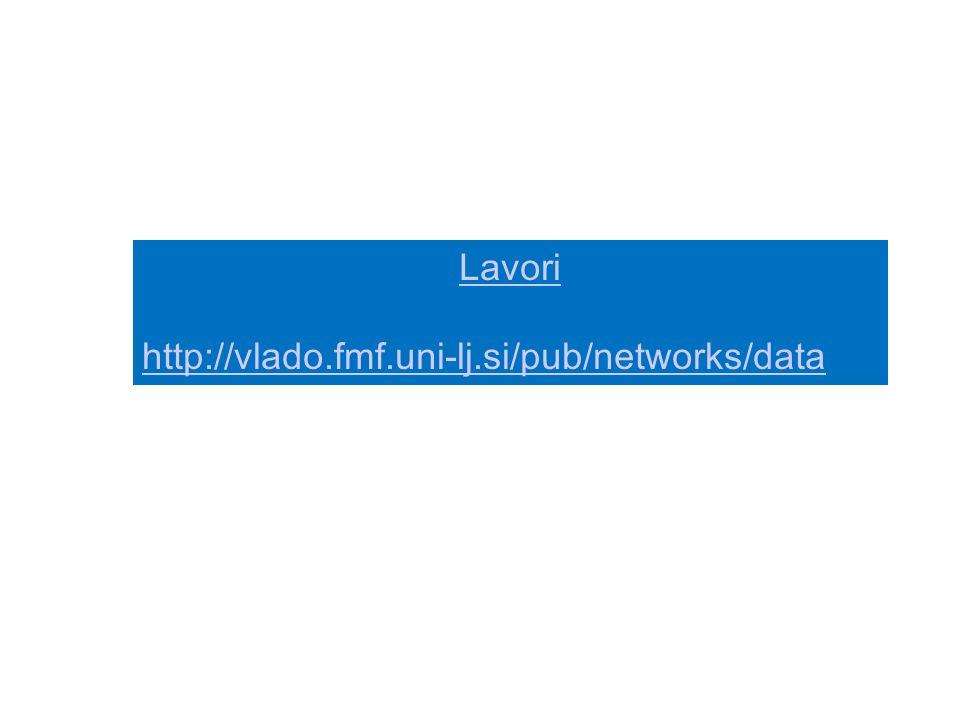 Lavori http://vlado.fmf.uni-lj.si/pub/networks/data