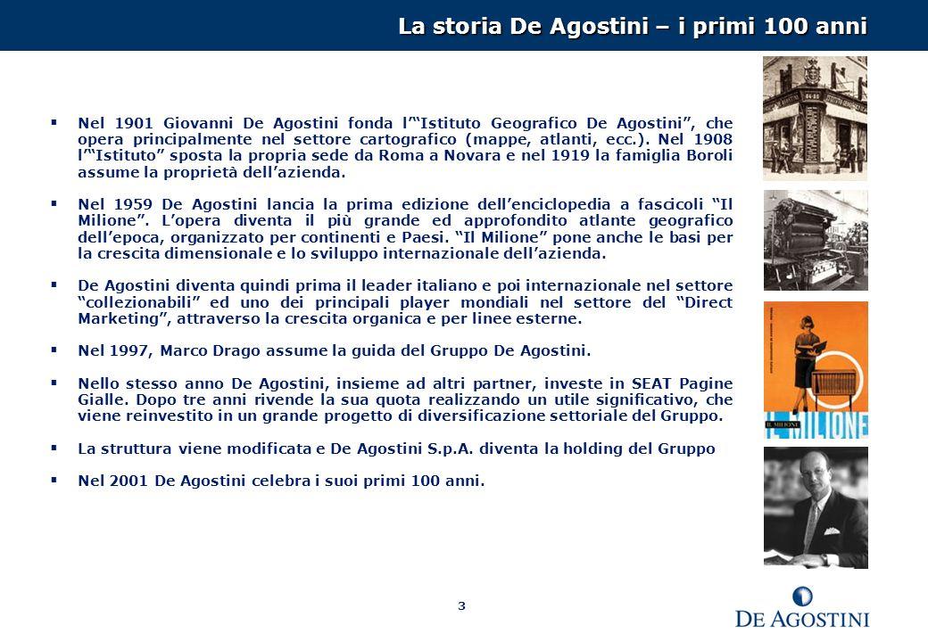 La storia De Agostini – i primi 100 anni