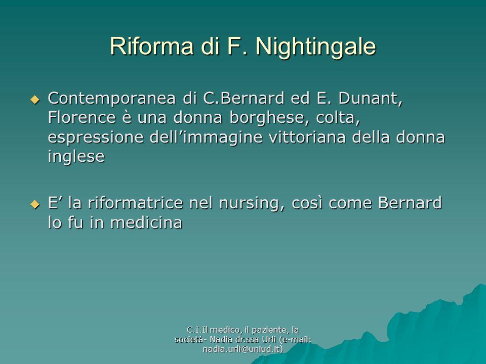 Riforma di F. Nightingale