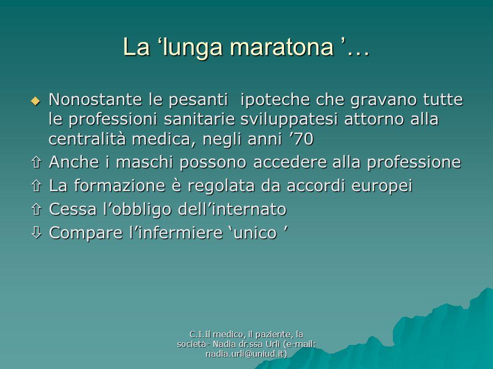 La 'lunga maratona '…