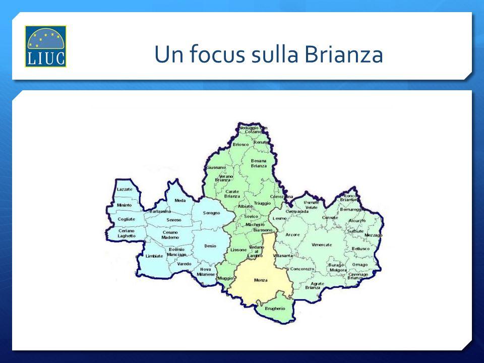 Un focus sulla Brianza