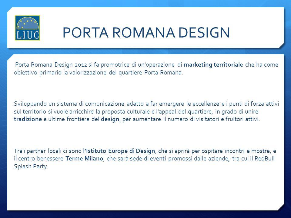 PORTA ROMANA DESIGN