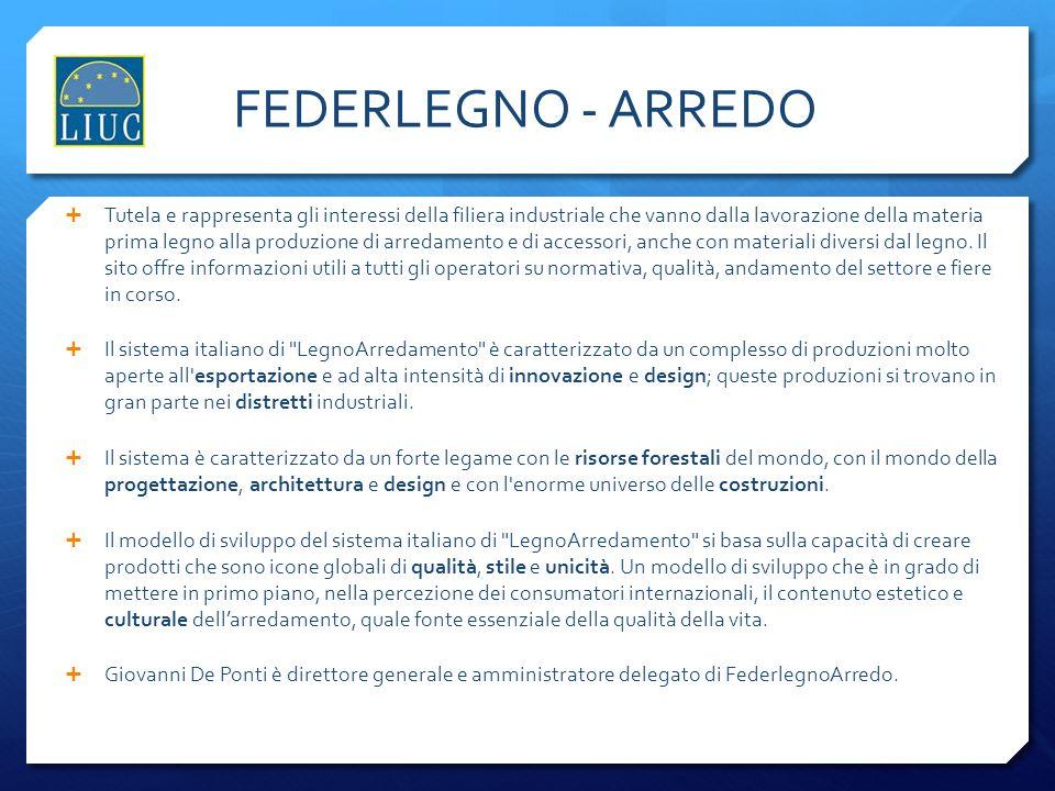 FEDERLEGNO - ARREDO