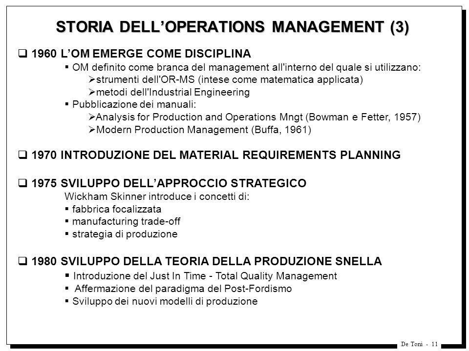 STORIA DELL'OPERATIONS MANAGEMENT (3)