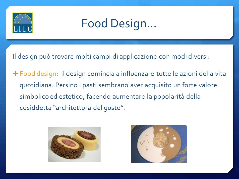 Food Design… L'industria del design