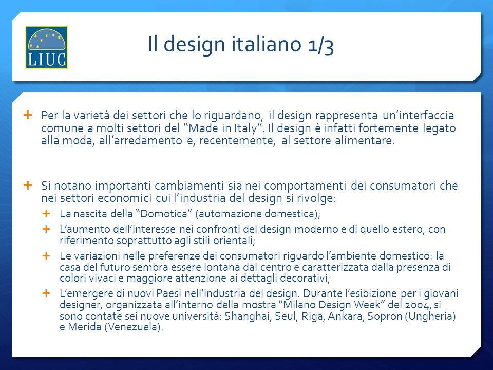 Il design italiano 1/3