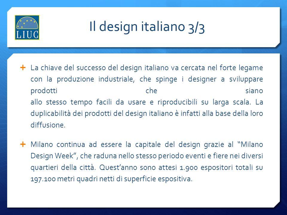 Il design italiano 3/3