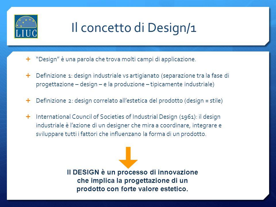 Il concetto di Design/1 Design è una parola che trova molti campi di applicazione.