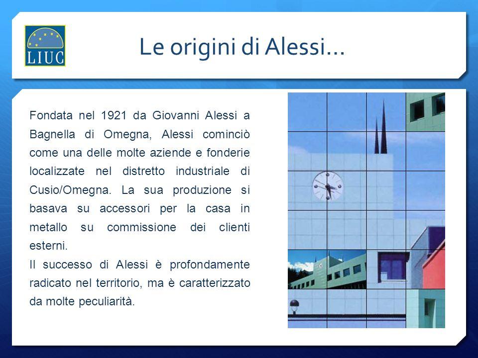 Le origini di Alessi… Le origini di Alessi