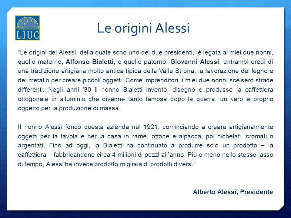 Le origini Alessi