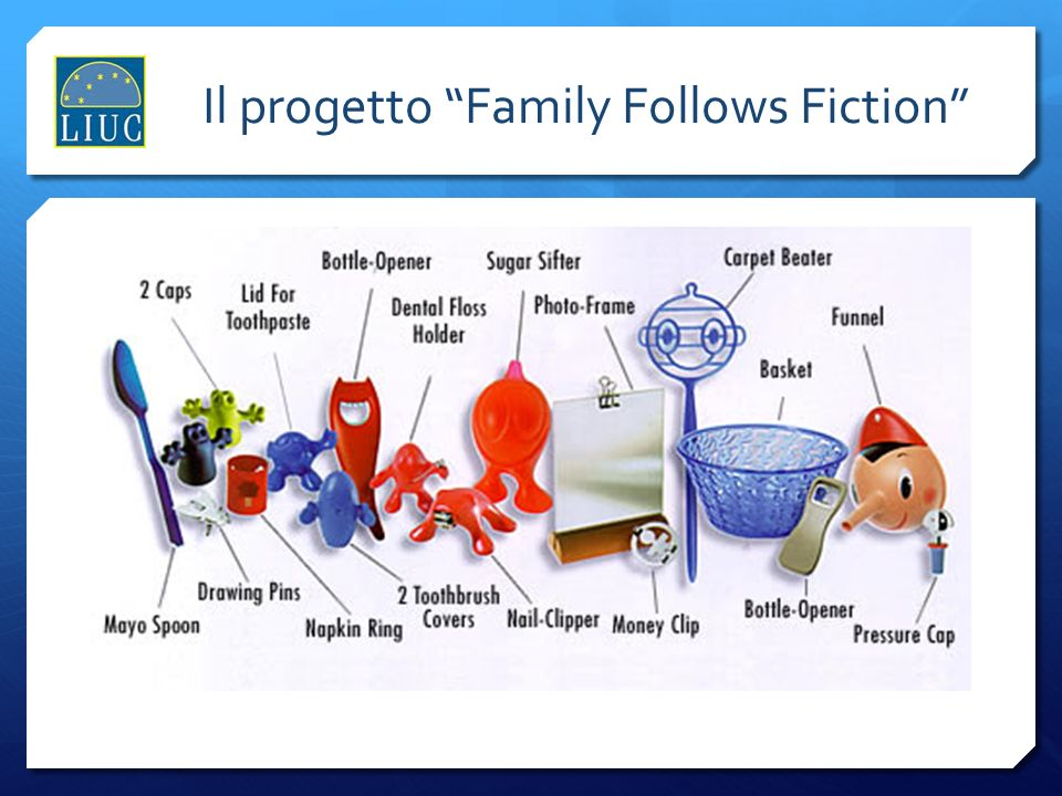 Il progetto Family Follows Fiction