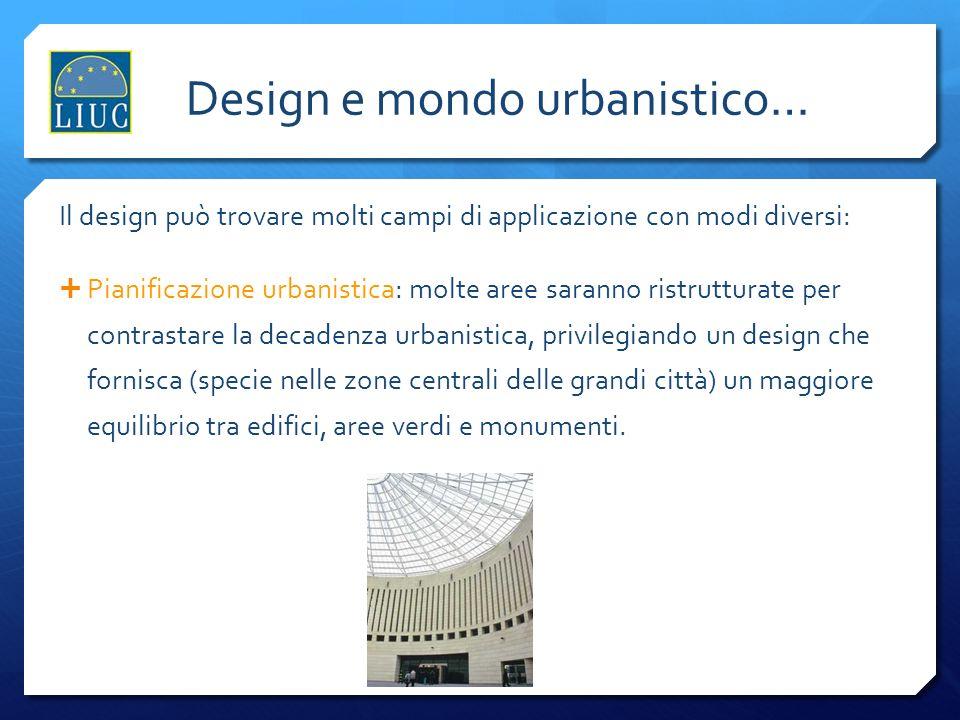Design e mondo urbanistico…