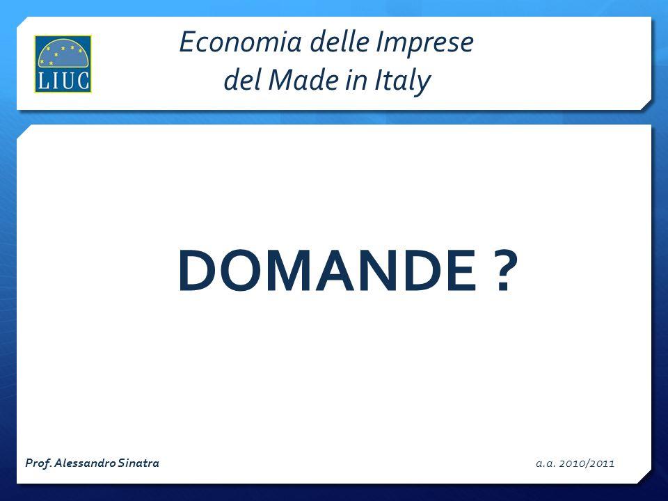 Economia delle Imprese