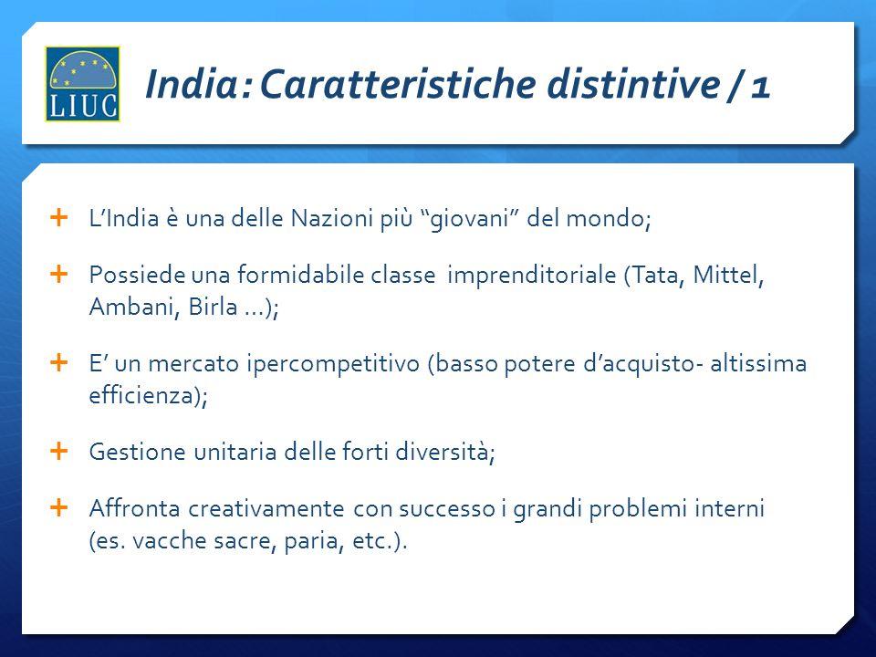 India: Caratteristiche distintive / 1