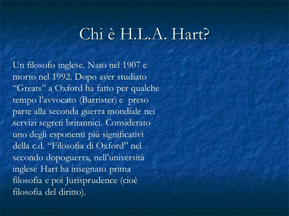 Chi è H.L.A. Hart