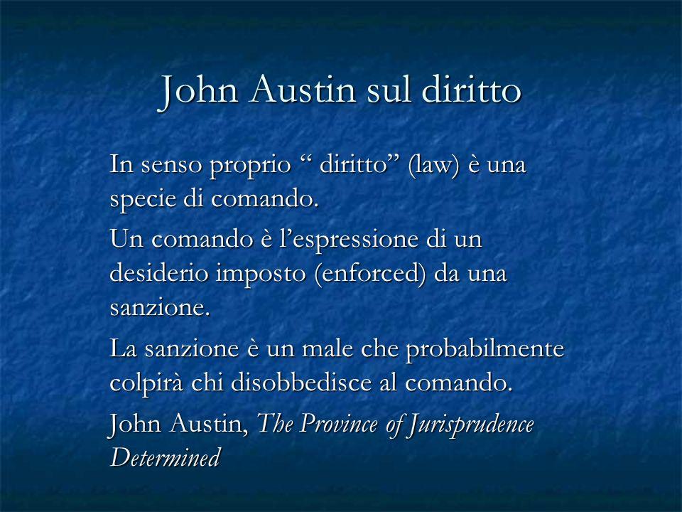John Austin sul diritto