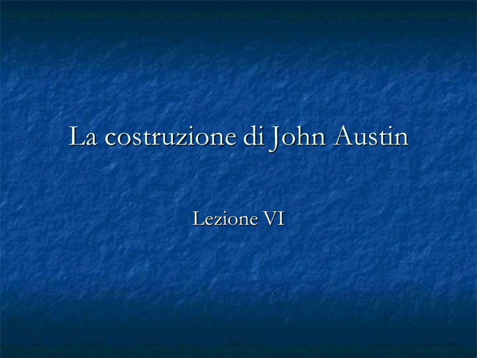 La costruzione di John Austin
